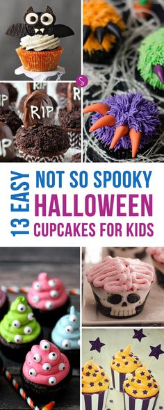 Easy Halloween Cupcakes for Kids to Make and Eat!