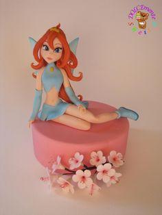 Winx - Cake by Sheila Laura Gallo