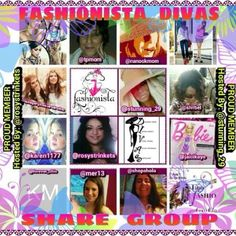 Fashionistas Share Group Welcome to the Fashionista Share Group. Please see rules. Thanks! ☺️ Other
