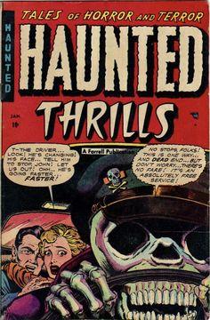The Immortal Mortal Appeal of the Skull - The Atlantic Creepy Comics, Sci Fi Comics, Fantasy Comics, Old Comics, Horror Comics, Horror Art, Fantasy Art, Vintage Comic Books, Vintage Comics