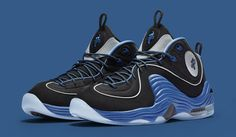 Nike Air Penny 2 Black Blue Sole Collector | Solecollector