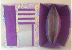 I've been trying for a long time to find a loyalty card/credit card wallet that doesn't have any the rest of the wallet. I'll use this as a starting point.--Tutorial: Duct Tape Mini Accordion Women's Wallet