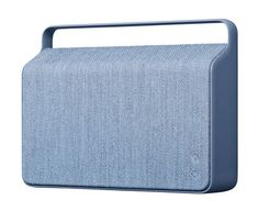 Scopri Diffusore bluetooth Copenhague -/ Senza fili - Tessuto & manico in alluminio, Blu oceano di Vifa, Made In Design Italia