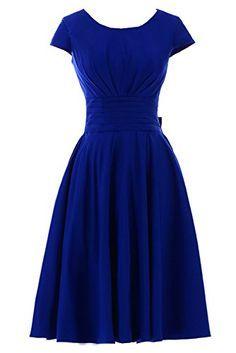 Sunvary Short Sleeves Bridesmaid Dress Evening Pageant Dress Short - US Size 2- Royal-blue Sunvary http://www.amazon.com/dp/B00CO2EISC/ref=cm_sw_r_pi_dp_xKV2tb1Y7JSMWVJW