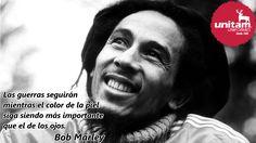Entre todos podemos hacer un mundo de #Paz Bob Marley