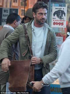 Denials: Gerard Butler has denied he entered rehab because of problems with alcohol, saying he has not had a drink in 15 years Hot Actors, Actors & Actresses, Gorgeous Eyes, Beautiful Men, Chasing Mavericks, Actor Gerard Butler, New York October, Betty Ford, Scottish Actors