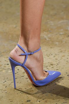 louboutins at cushnie et ochs. #nyfw #ss16 #shoeporn