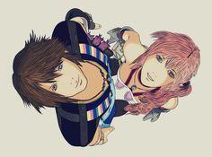 Final Fantasy XIII-2: Noel and Serah by Gui-Arts