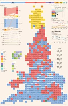 UK general election results graphic (print version)
