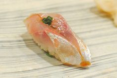 鯵 寿司 にぎり『マアジ すし』Aji Nigiri Sushi (Jack Mackerel) 握り