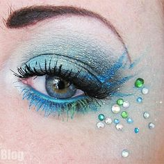 Hunger Games Makeup - District 4