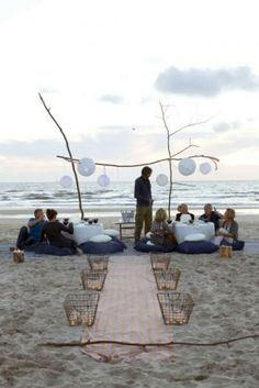 Beach Picnic Party PARADISE REAL ESTATE INTERNATIONAL www.paradiserei.com