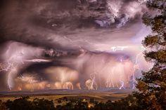 Lightening by Brent Davis
