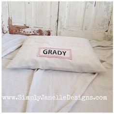 Simply Janelle Designs Drop Cloth dog bed
