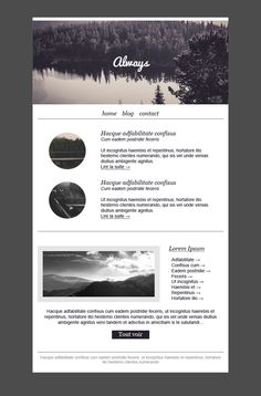 Imaginary  Creative ENewsletter Psd Template  Template Psd