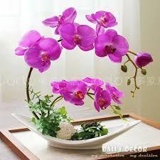 Imagem relacionada Nylon Flowers, Clay Flowers, Exotic Flowers, Purple Flowers, Beautiful Flowers, Yellow Roses, Pink Roses, Orchid Flower Arrangements, Orchid Centerpieces