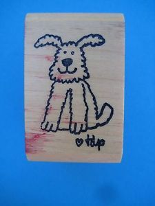 KIDSTAMPS-DOG-Rubber-Stamp-Tomie-dePaola-Kids-TEACHER-Books-PUPPY-Airedale