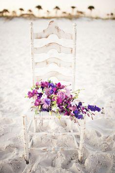 Shades of Purple Pensacola Beach, FL Destination Wedding Photographer: Oeil Photography