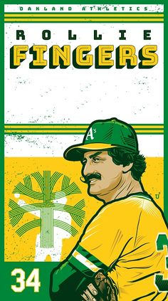 Oakland Athletics, Looking Back, Green And Gold, Fingers, Feel Good, Baseball Cards, Feelings, My Love, Logos