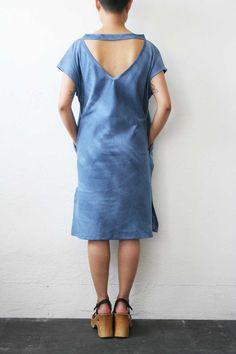 W / by WELTENBUERGER / Scrubs Dress - Dark Blue