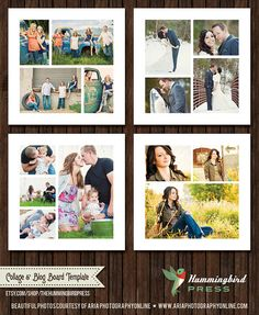 INSTANT Download   Storyboard / Collage by TheHummingbirdPress, $16.00