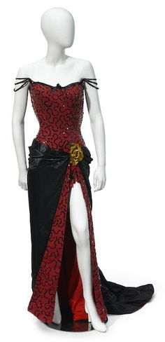 "item catalogue image. Marilyn Monroe ""Saloon gown"" from ""River of no Return"""