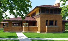 The Barton House | Frank Lloyd Wright's Martin House Complex :: Learn : Visual Tour