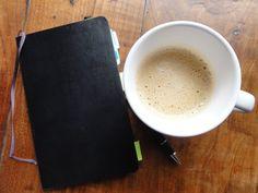 writing | moleskine | coffee