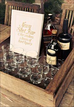 Special liquor set-up