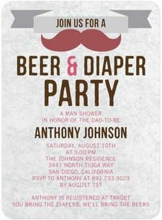 Baby Bash - Baby Shower Invitations - Magnolia Press - Cinnamon - Red : Front