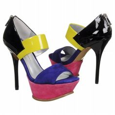 Jessica Simpson Vadio Shoes (Purple Multi Suede) - Women's Shoes - 6.5 M