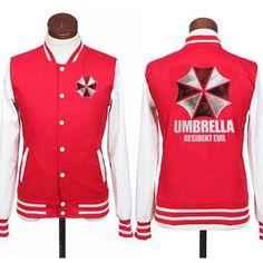 Resident Evil Umbrella JACKETS Baseball Uniform
