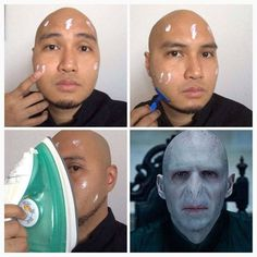 #MakeupTransformation Voldemort