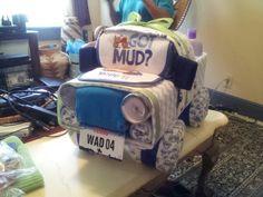 Diaper truck