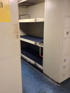 The beds in the USS Lexington