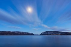 Pic of the Day... #PlumPoint at moonlight by Michael O'Donnell.  #hudsonvalley #hudsonriver #ocny #nearnyc