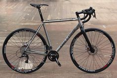 Great-riding UK-designed titanium cyclo-cross bike at a price that usually gets you a bare frame