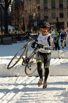 The 2012 Madison Winter Festival held Feb 18/19, 2012 in Madison, WI included many competitions not limited to cross country skiing, ski and snowboard rail tricks, cyclocross, racing, and kids fun runs.     Amazing - What do you think?