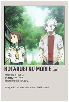 Film Anime, Anime Titles, Anime Names List, Good Anime To Watch, Anime Watch, Otaku Anime, Anime Guys, Poster Anime, Hotarubi No Mori