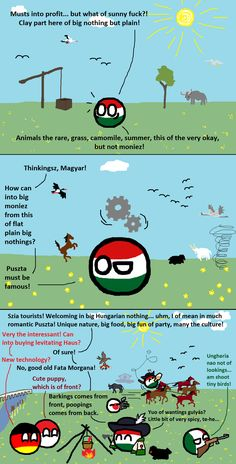 The big Hungarian Puszta by KorNaXon on DeviantArt Poland Country, History Memes, Cooking Games, Fun Comics, Kugel, Hungary, Stuff Stuff, Random Stuff, Lol