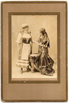 Antique Fortune Telling Photo