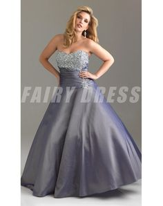 Shop elegant plus-sized ball gowns at Simply Dresses. Plus-size women's formal dresses, plus-sized long evening dresses, plus evening gowns, and formal ball gowns in plus sizes. Plus Size Formal Dresses, Evening Dresses Plus Size, Formal Gowns, Evening Gowns, Formal Prom, Grey Prom Dress, Dress Up, Strapless Dress Formal, Robes D'occasion