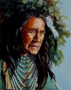 Image detail for -... Art Native American Art - Native American ArtOriginal Oil Paintings