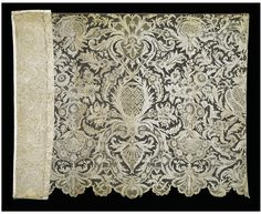 Unfinished flounce made in the Burano Lace School 1880