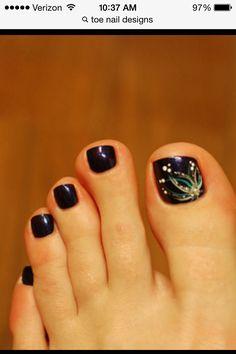 Black Nail Designs, Toe Nail Designs, Simple Nail Designs, Toe Nail Art, Toe Nails, Fall Designs, Fall Nails, Stylish Nails, Black Nails