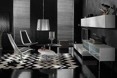 Modern sitting room interior design