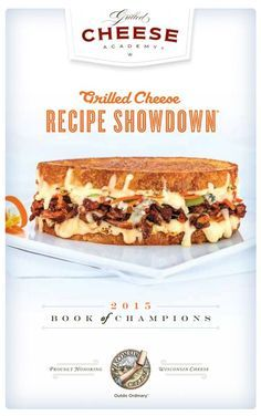 Another Grilled Cheese Recipe Showdown® is in the books. And we're proud to say that this year's entries more than held their own in the taste department. But like in past Showdown's, a few submissions seemed to make our mouths water a little bit more. And so it's with great excitement that we showcase those entries here, in the 2015 Grilled Cheese Recipe eBook.