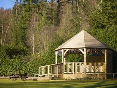 The Bandstand at Longleat Forest