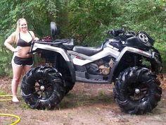 Can am Polaris Rzr Xp 1000, Polaris Ranger, Mustang Humor, Big Boyz, Atv Accessories, Redneck Girl, Four Wheelers, Buggy, Hot Bikes