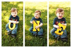 Little boy first birthday and cake smash photoshoot